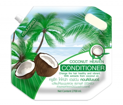 Cruset Coconut Heaven with Coconut Oil Conditioner 2,700 ml.