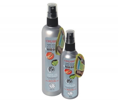 Cruset Leave On Hair Serum with Ginseng, Green Tea and Pearl