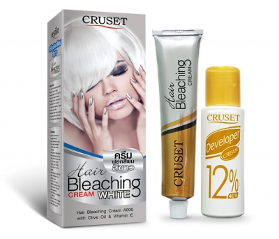 CRUSET Hair Bleaching Cream A000 (White) 75 g.