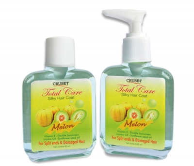 Cruset Total Care Silky Hair Coat (Melon) 85 ml.