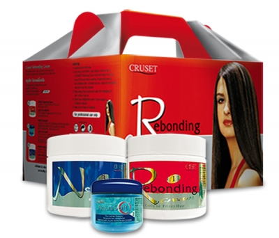 Cruset Rebonding Cream 250 and 500 ml.