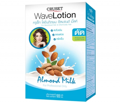 Cruset Almond Milk Wave Lotion 110 ml.