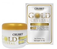 Cruset Gold Crystal Hair Repair Treatment 10/60/250/500 ml.