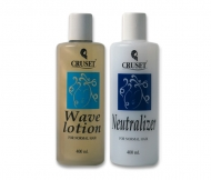 Cruset Wave Lotion (Clear, Pink Pearl, Pearl) 400 ml.
