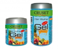 Cruset Hair Styling Gel (Extra Hold) 450 and 800 ml.