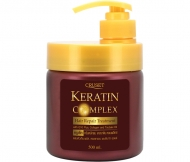 Cruset Keratin Complex Hair Repair Treatment 10/60/250/500 ml.
